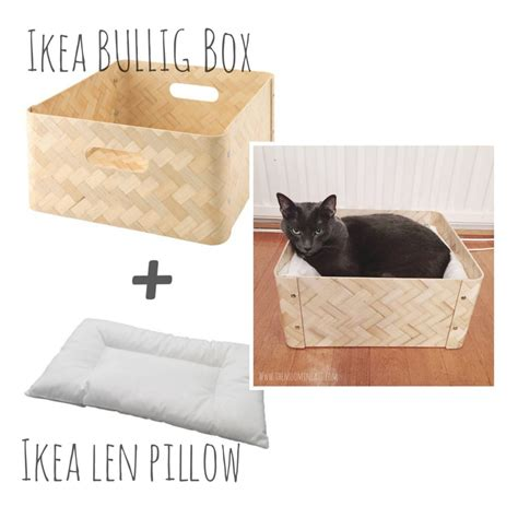cat bed side table the bloq by binq design simple ideas for cat beds ikea hackers ikea hackers