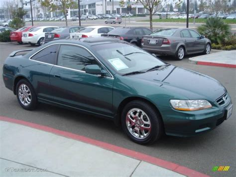 2002 green honda accord 2002 noble green pearl honda accord ex v6 coupe 1703820