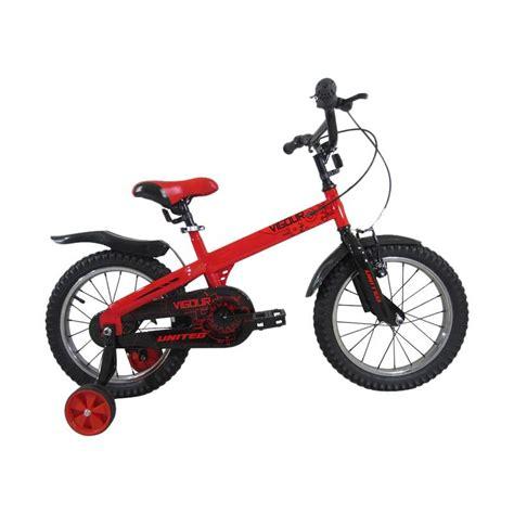 Roda Bantu Sepeda Anak United jual united vigour sepeda anak 16 inch harga kualitas terjamin blibli