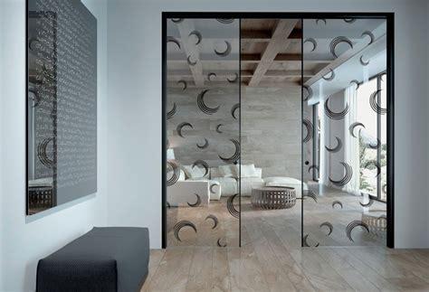 porta scorrevole interna vetro porte scorrevoli in vetro per interni dal design moderno