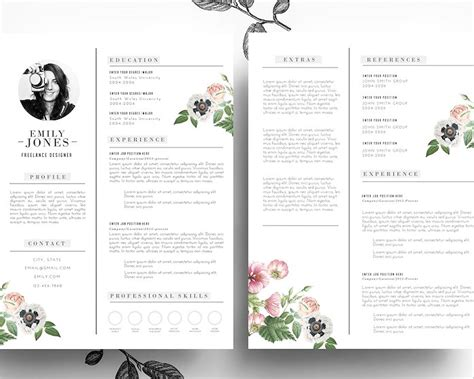Creative Resume Design Templates by 21 Resume Design Templates Free Psd Word Designs