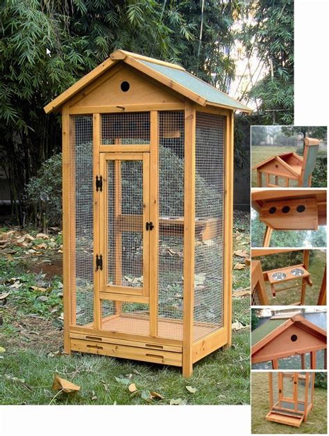gabbie e voliere per uccelli voliera palladium in legno animalmarketonline