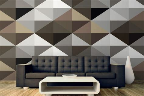 3d wallpaper for walls nz 20 living room designs with geometric patterns
