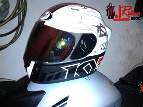 Helm Kyt Laki Bikin Anti Theft System Di Helm Fullface Diy Elrider S