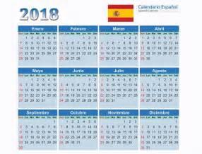 Calendario 2018 Em Portugues Calend 225 Rios 2018 Espanhol Cdr Psd Ai Pdf Calend 225 Rios Gr 225 Tis