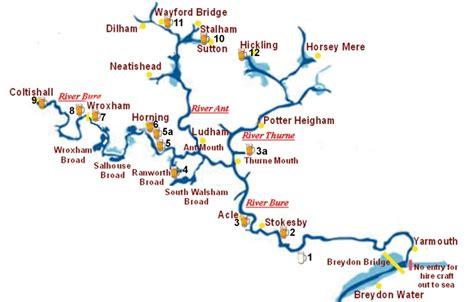 broad river map norfolk broads riverside pubs map