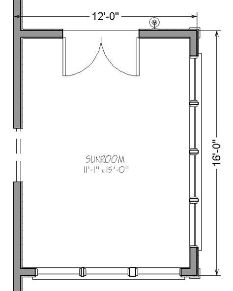 sunroom floor plans 12 by 16 sunroom addition plans package links simply
