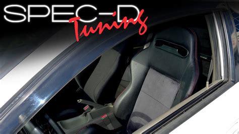 spec d tuning seats specdtuning installation spec d universal racing