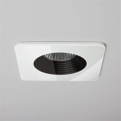Led Bathroom Lights Uk Astro Lighting 5668 Vetro Square Led Bathroom Downlight At Love4lighting
