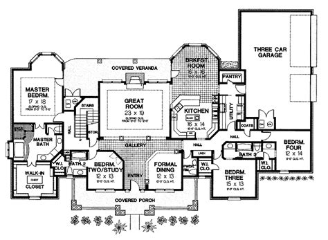 gothic mansion floor plans gothic house plan