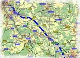 Motorrad Tourenplaner Map And Guide by Schw 228 Bische Alb2003