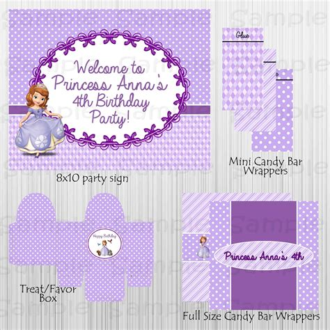 printable sofia the birthday and 31 similar items printable sofia the birthday and 31 similar items