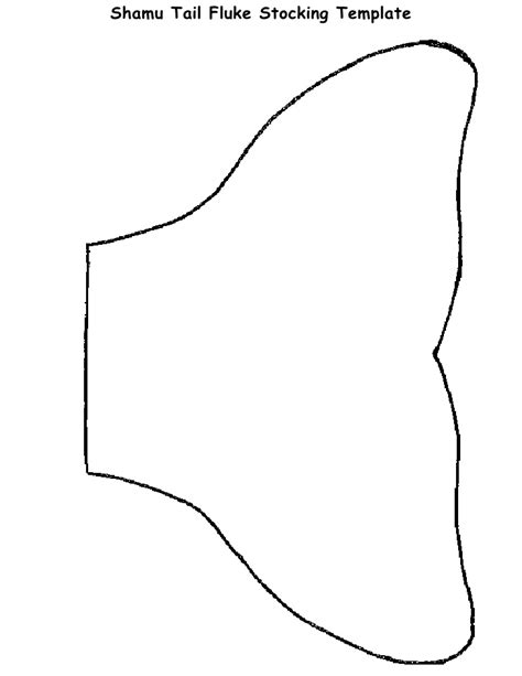 shamu tail fluke stocking activity template