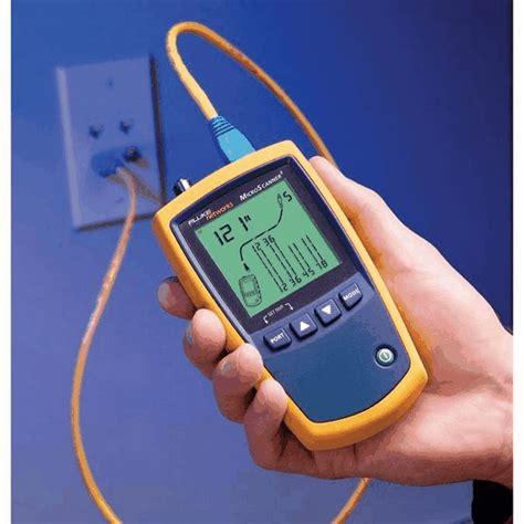 fluke networks ciq 100 cableiq qualification tester from davis instruments