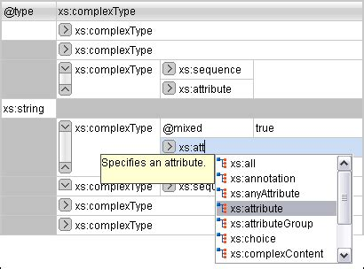 xml grid layout is there an xml editor with grid view similar to that of