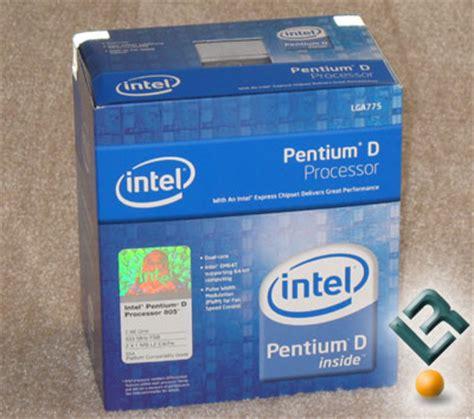 is pentium better than celeron overclocking the intel pentium d processor 805 legit