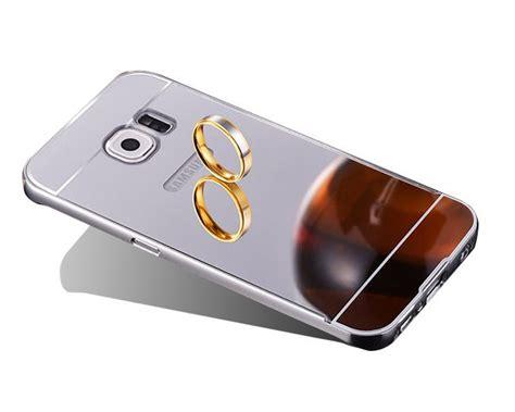 Bumper Sled Mirror S7 Edge etui bumper plecki mirror do galaxy s7 edge srebrne 4kom pl