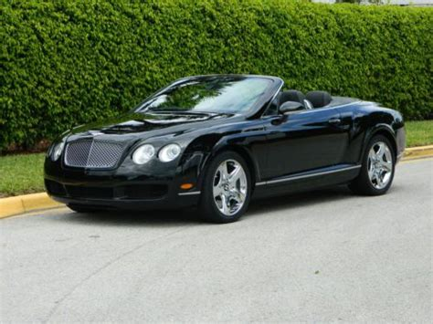 chrome bentley convertible find used 2009 bentley continental gtc convertible