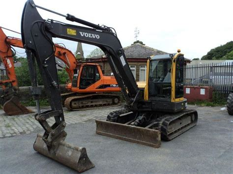 volvo ecr88 mini excavator from united kingdom for sale at