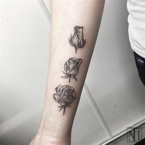 blooming rose tattoo designs 95 designs every secretly desires tattooblend