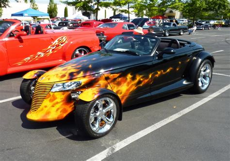 chrysler prowler plymouth prowler does its best in today s traffic