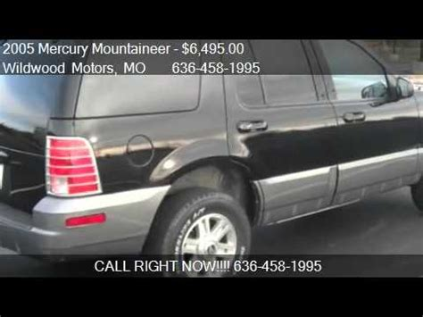 small engine maintenance and repair 2005 mercury mountaineer head up display 2005 mercury mountaineer problems online manuals and repair information