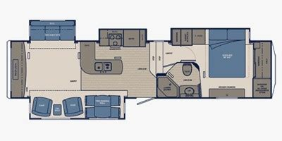 carriage rv floor plans 2011 carriage cabo 362 comparison compare trailers