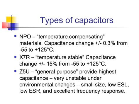 x7r capacitance change high performance printed circuit boards lecture 3