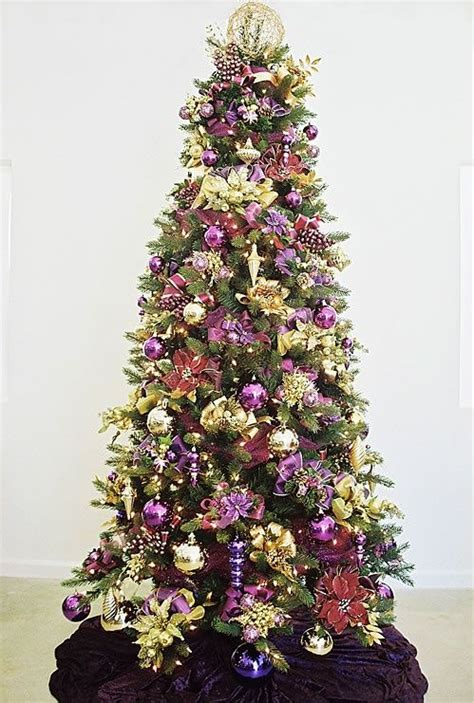 plum color christmas tree decorations 38 best purple and gold decorations images on gold decorations