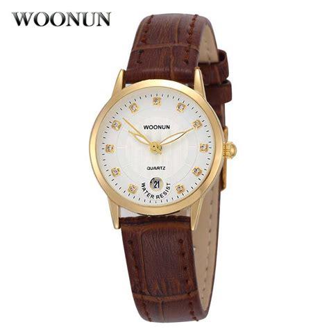 woonun brand watches waterproof quartz