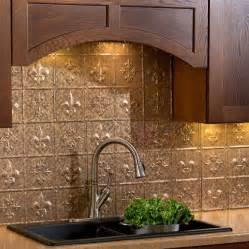 fasade kitchen backsplash fasade backsplash fleur de lis in cracked copper