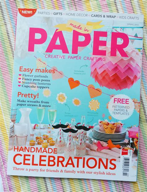 Paper From Magazines - paper crafts magazine craftshady craftshady