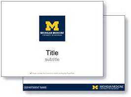 Branding Guidelines Michigan Medicine University Of Michigan Michigan State Powerpoint Template