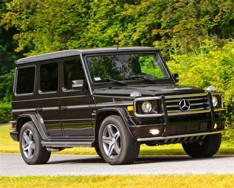 rugged suvs luxe rugged suvs the mercedes g55 amg is pretty and tough