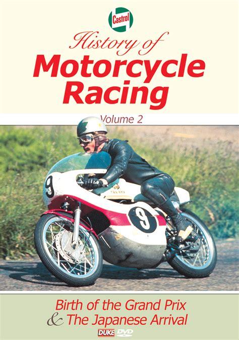 history of motocross racing castrol history of motorcycle racing vol 2