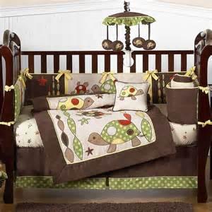 Turtle Crib Bedding Sets Turtle 9 Crib Bedding Set