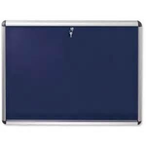 Display Cabinet Noticeboard Nobo Display Cabinet Noticeboard Lockable A0