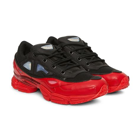 lyst adidas by raf simons ozweego iii sneakers in black