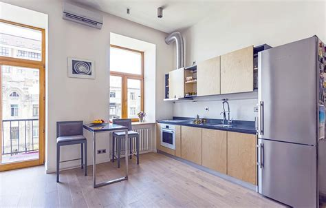 Do It Yourself Kitchen Design Layout by Unusual Layout Defining A 58 Sqm Open Studio Apartment In