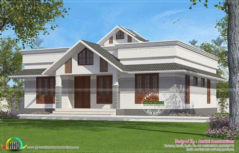 kerala home design thrissur 1330 square feet small house plan kerala home design and