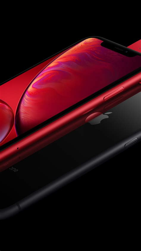 wallpaper iphone xr red black  smartphone apple
