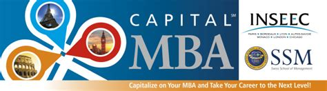 Capital One Mba Internships ssm announces new capital mba rome