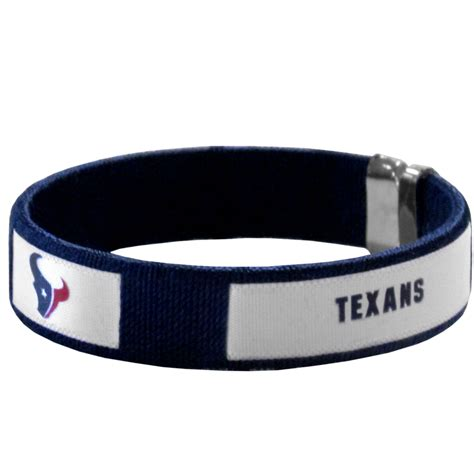 pro football fan gear texans fan band bracelet pro football fan gear