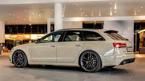 this mocha latte audi rs6 exclusive is both and