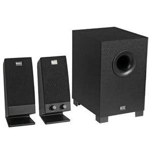 Speaker Komputer Altec Lansing altec lansing bxr1321 2 1 channel pc speaker system
