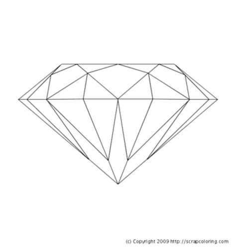 printable coloring pages gemstones gem coloring page