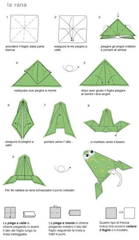 Rana Origami - 17 migliori idee su rana origami su