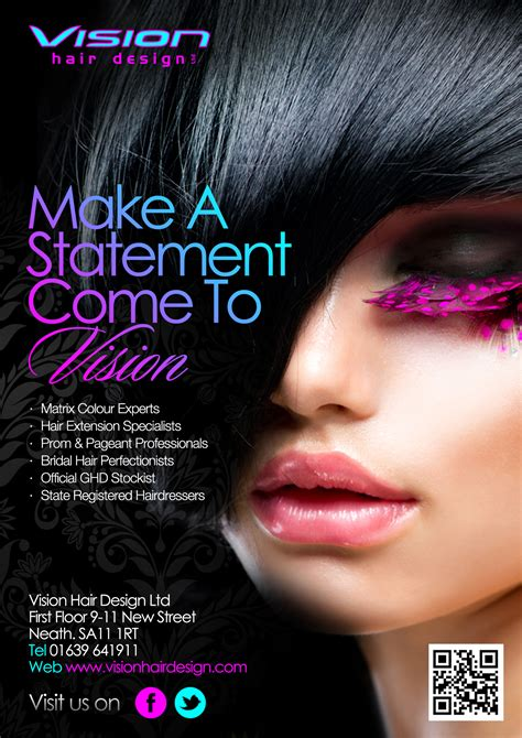 flyers for hair shows vision hair design ltd flyer 2013 hair and beauty