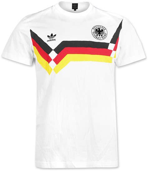 T Shirt Deutschland A adidas deutschland t shirt white