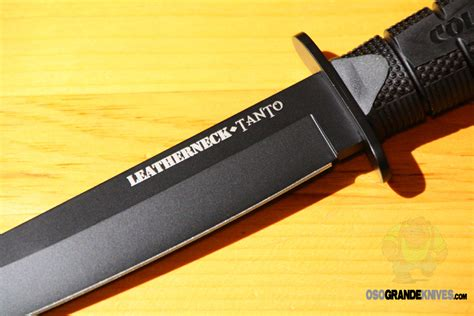 Cold Steel Leatherneck cold steel 39lsft leatherneck tanto osograndeknives